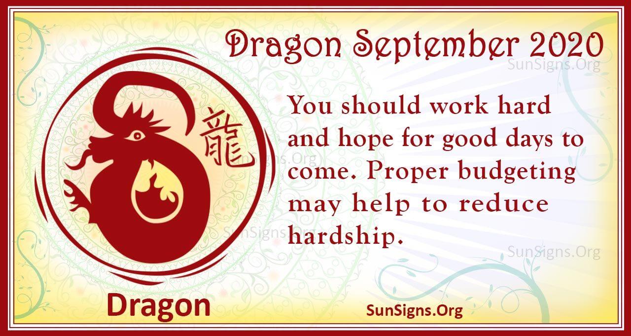 dragon september 2020