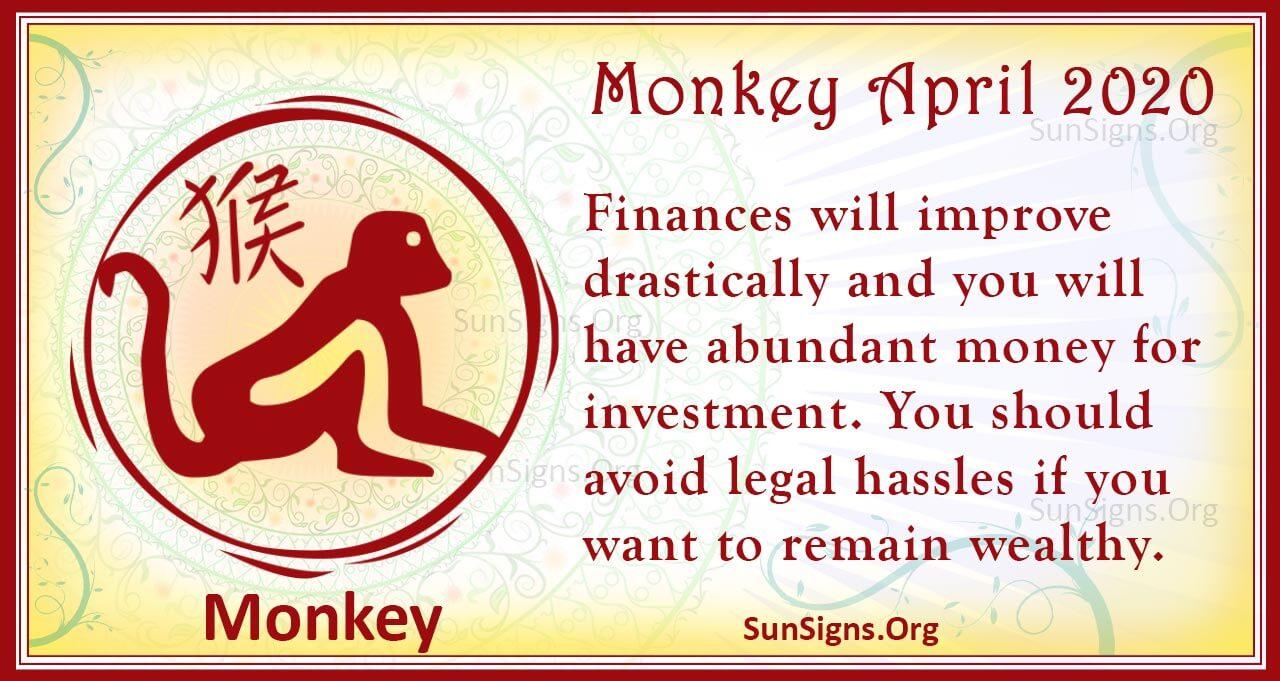 monkey april 2020