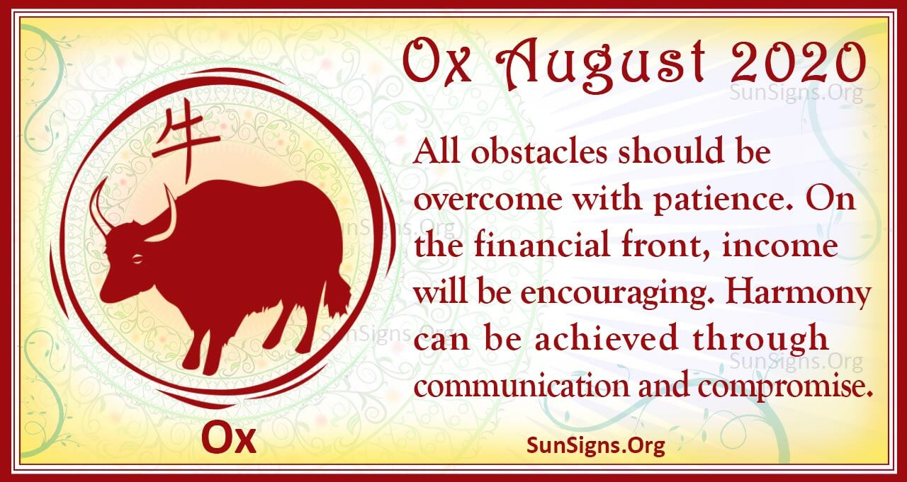 ox august 2020