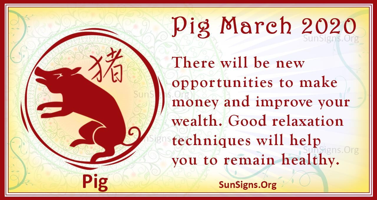 pig march 2020