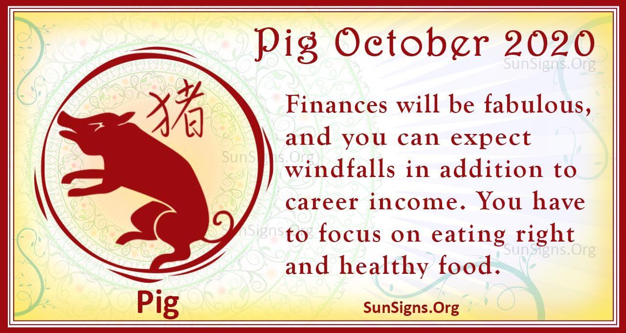 pig october 2020
