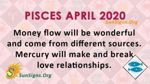 pisces april 2020