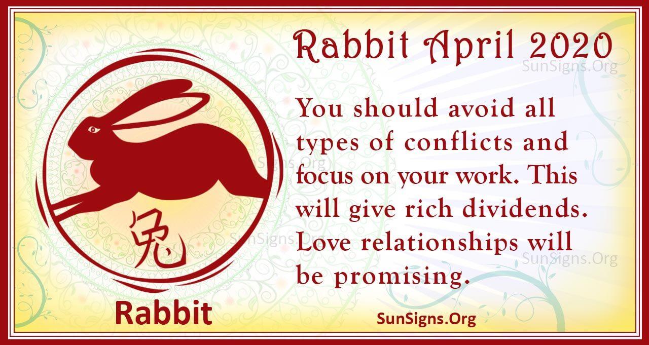 rabbit april 2020