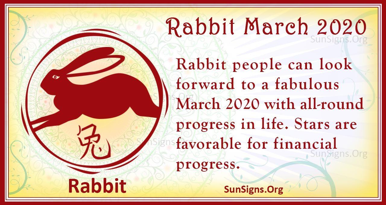 rabbit march 2020