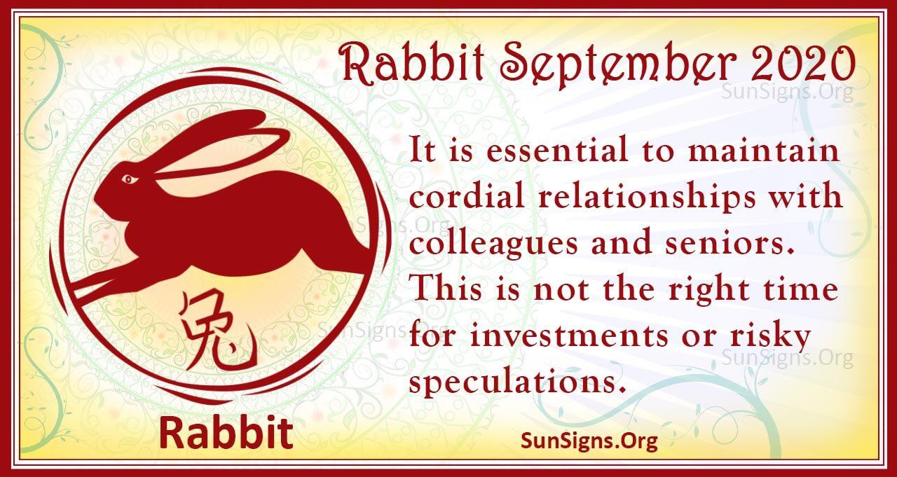rabbit september 2020