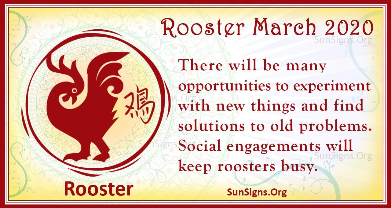 rooster march 2020