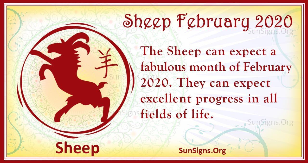 sheep february 2020