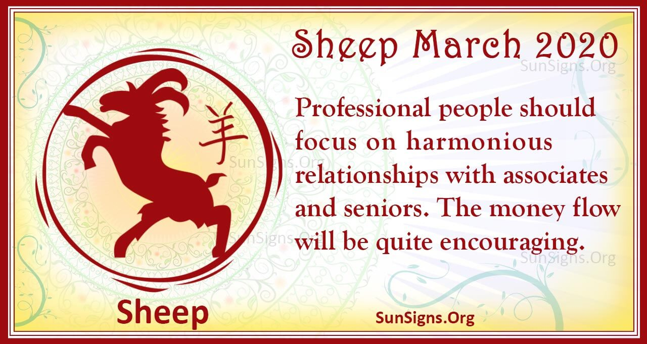 sheep march 2020