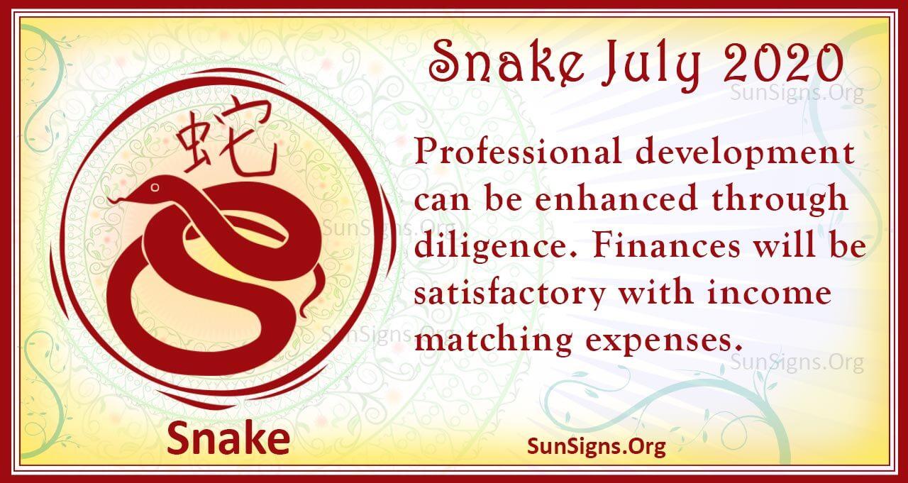 snake july 2020