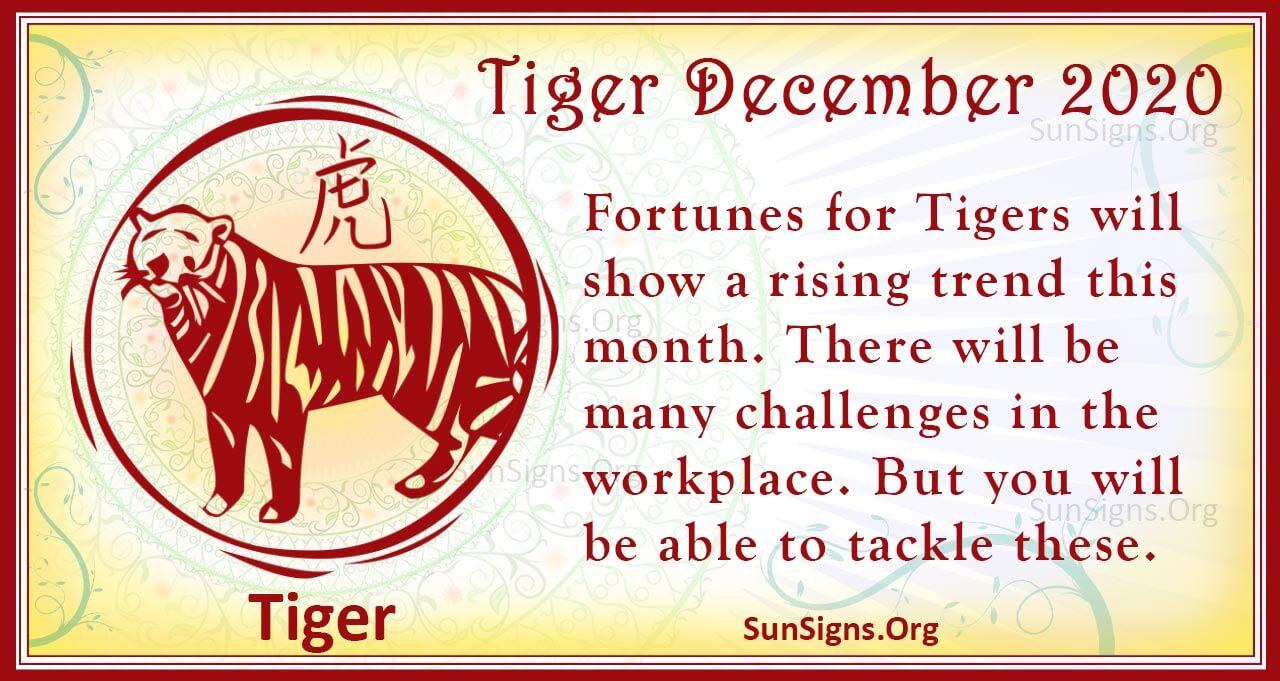 tiger december 2020