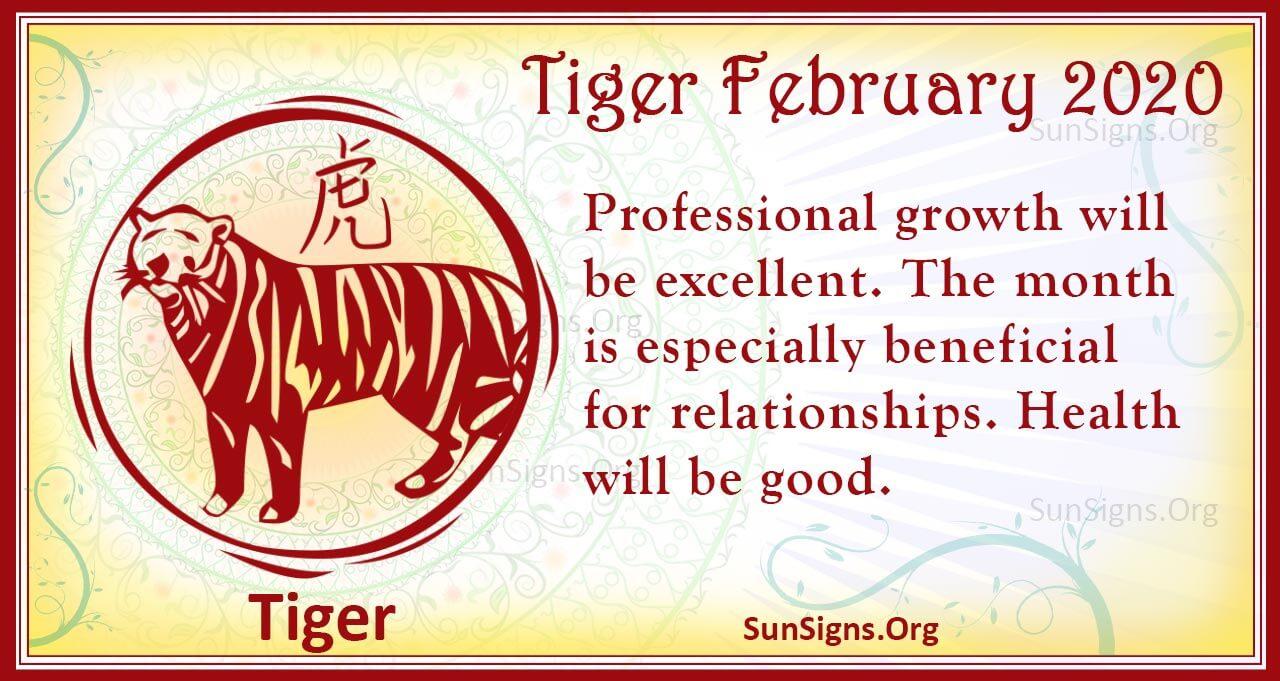 tiger february 2020