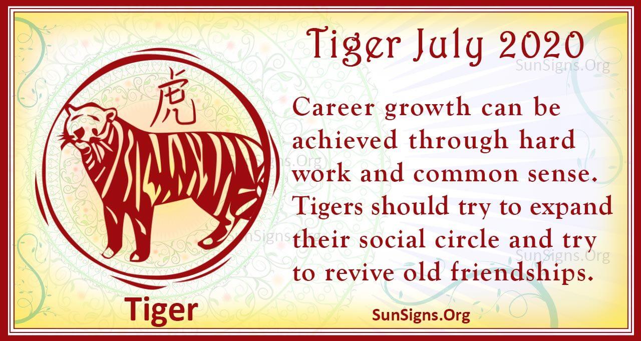 tiger july 2020
