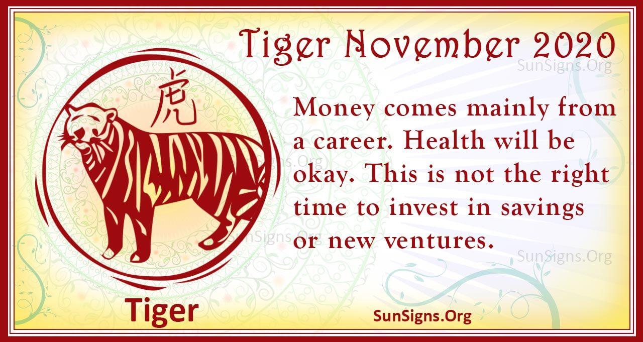 tiger november 2020