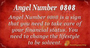 Angel Number 0808
