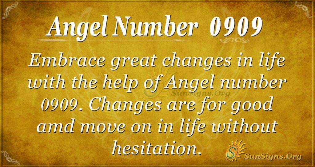 angel number 0909