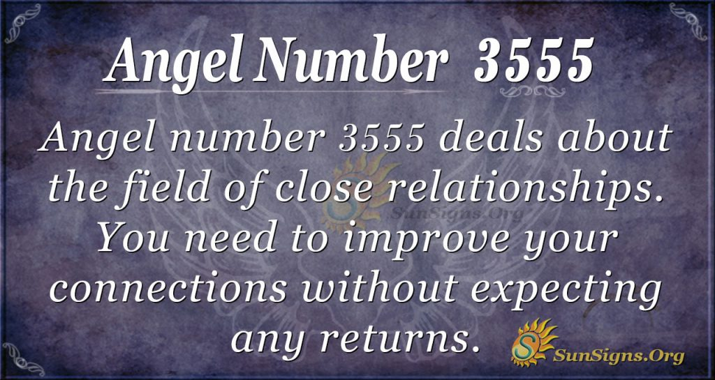 angel number 3555