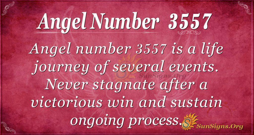Angel Number 3557