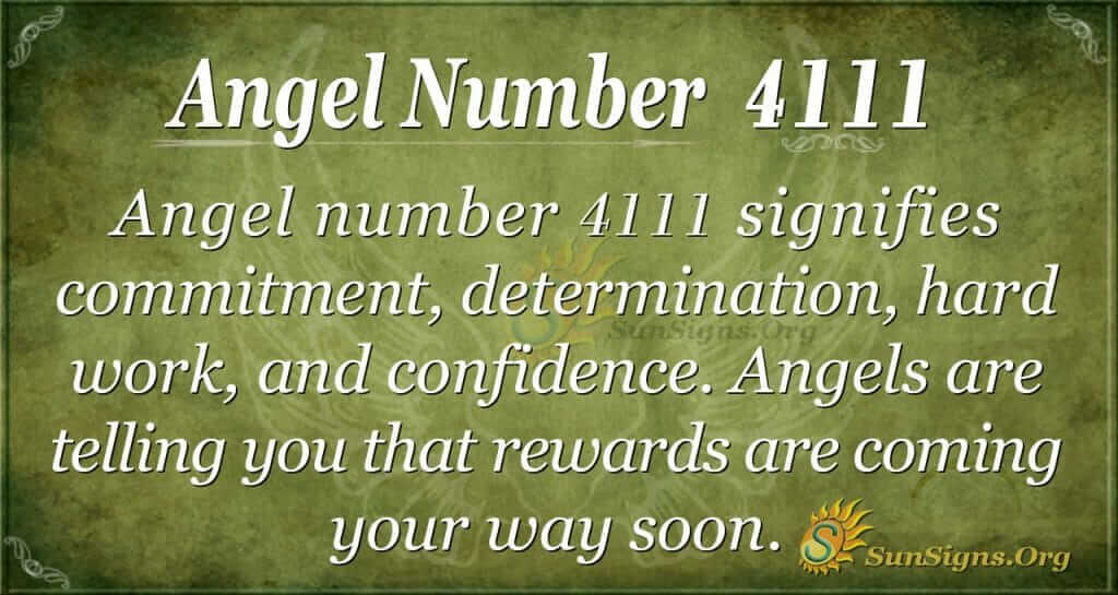 angel number 4111