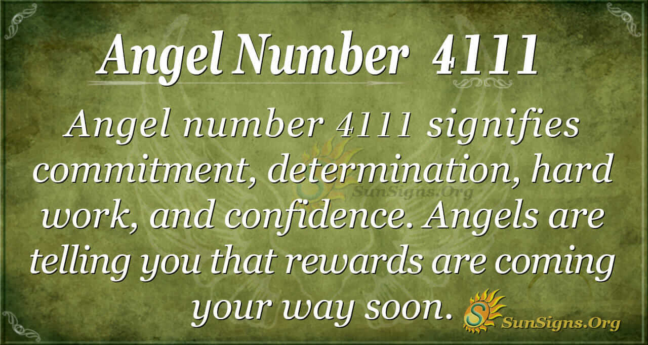 Angel Number 4111 Meaning