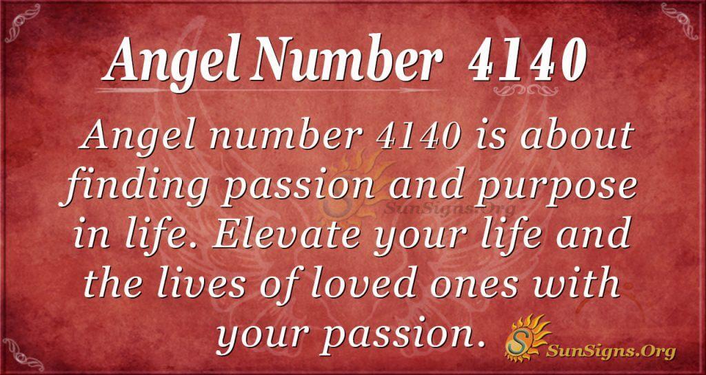 angel number 4140