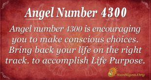 angel number 4300