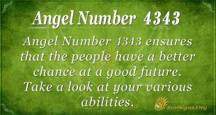 angel number 4343