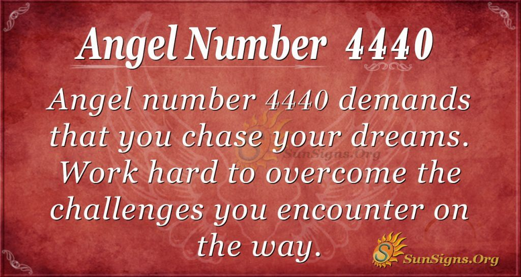 angel number 4440