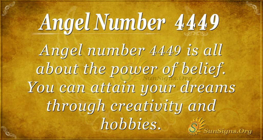 angel number 4449