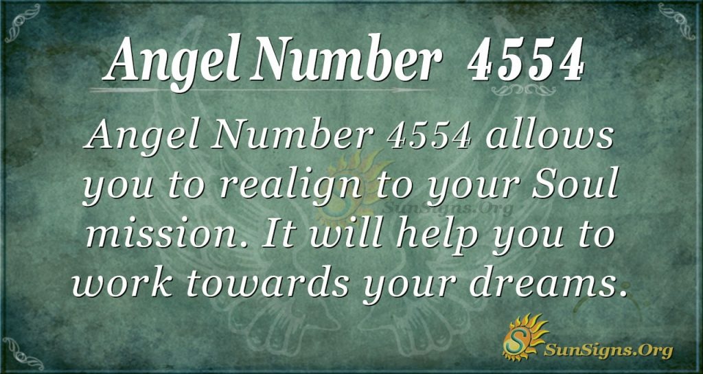 angel number 4554