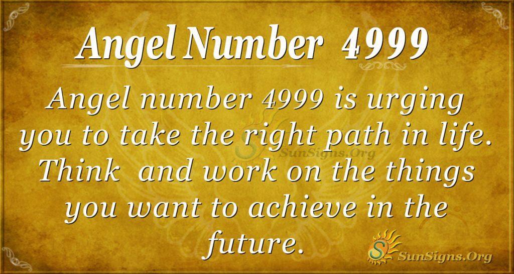angel number 4999