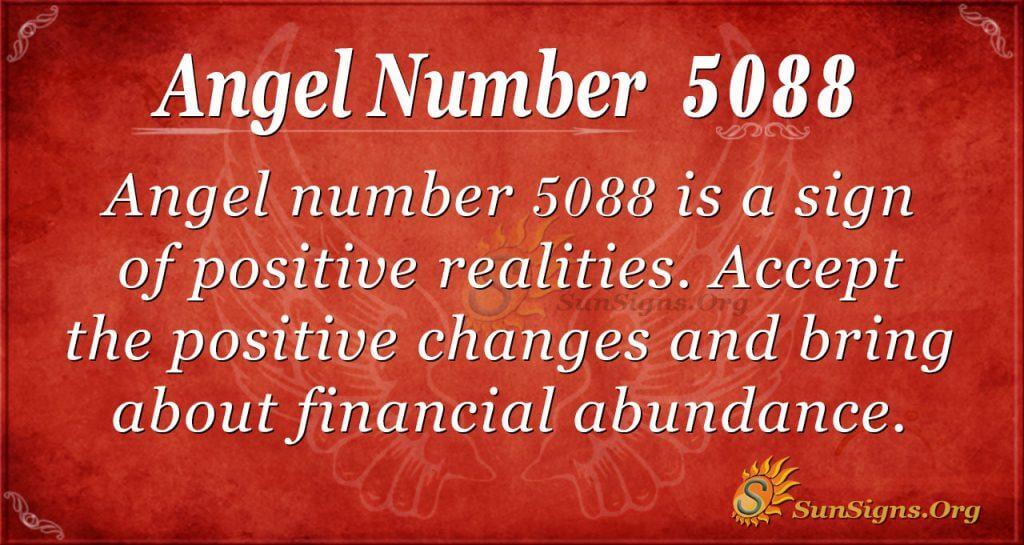 Angel Number 5088