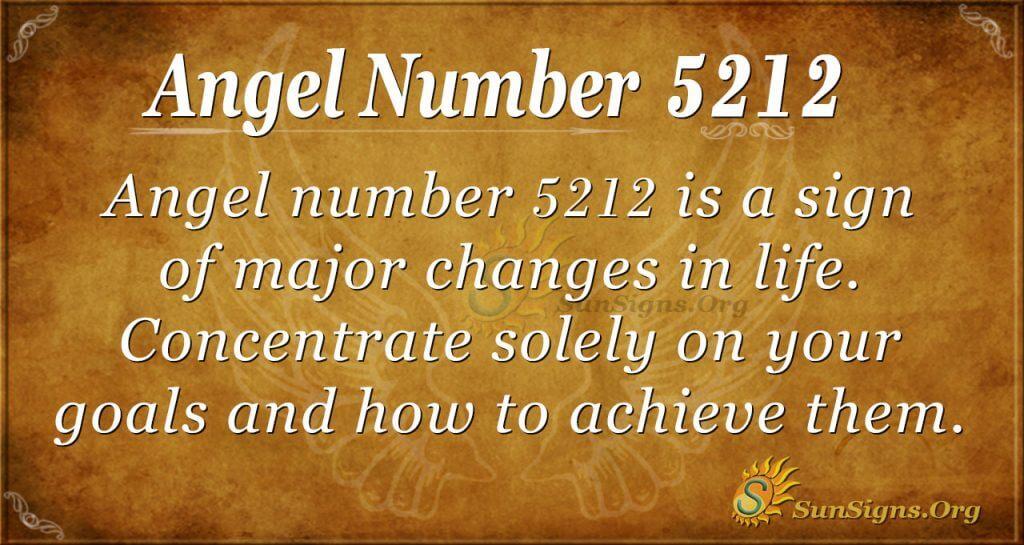 Angel Number 5212