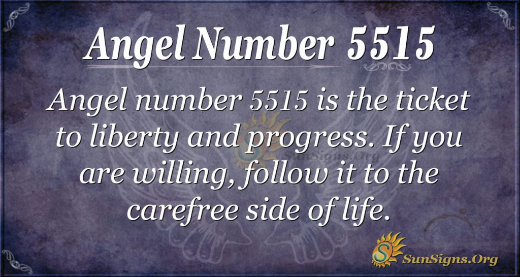 angel number 5515