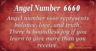 angel number 6660