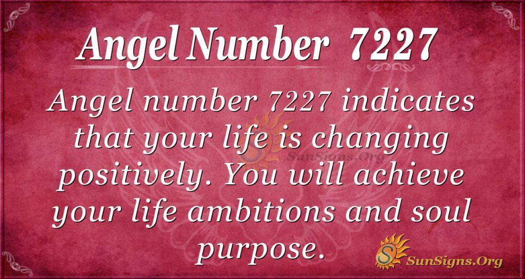 angel number 7227