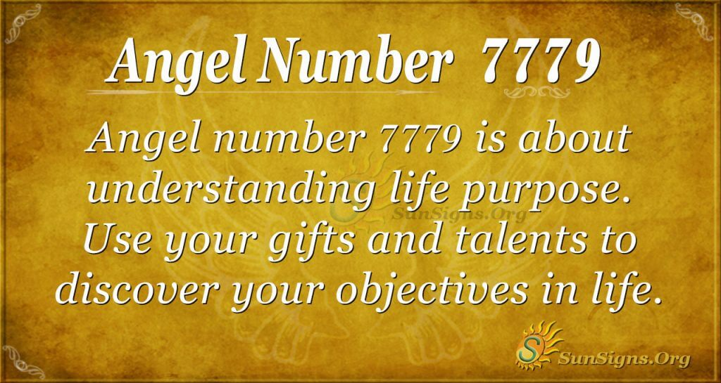 angel number 7779