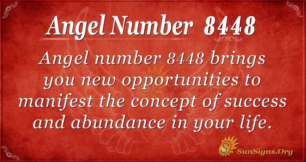 angel number 8448