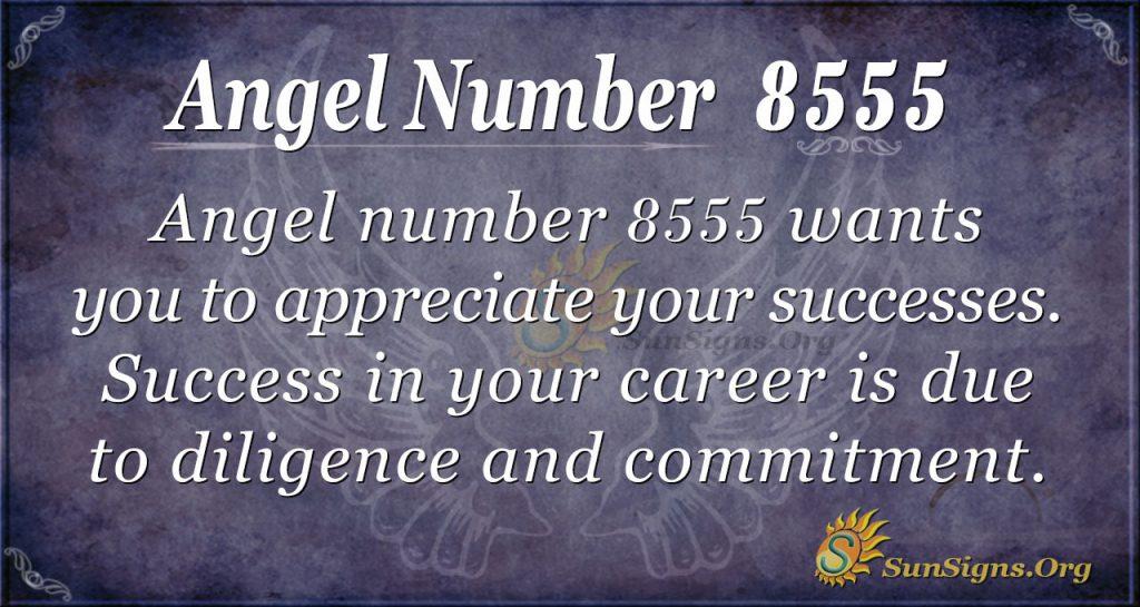 angel number 8555