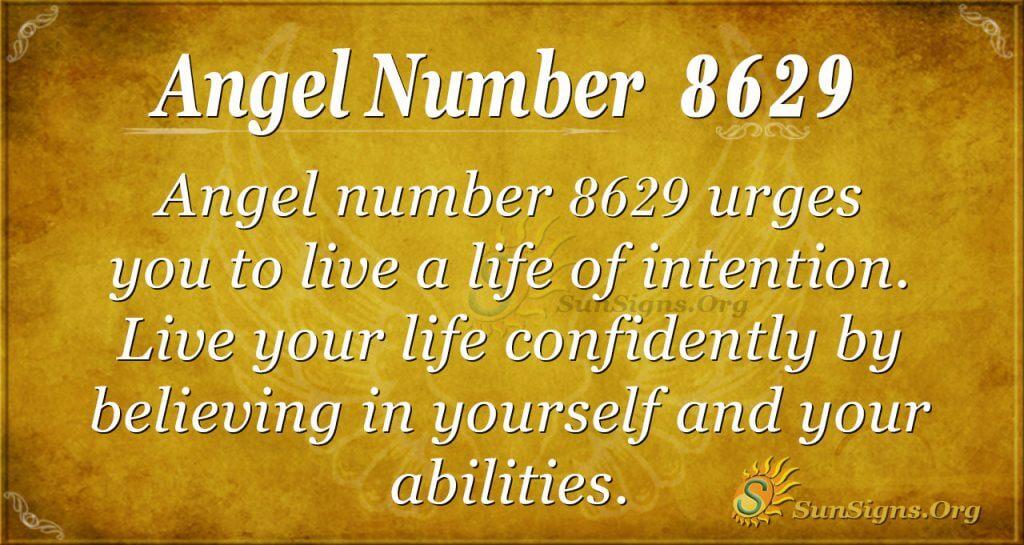 angel number 8629