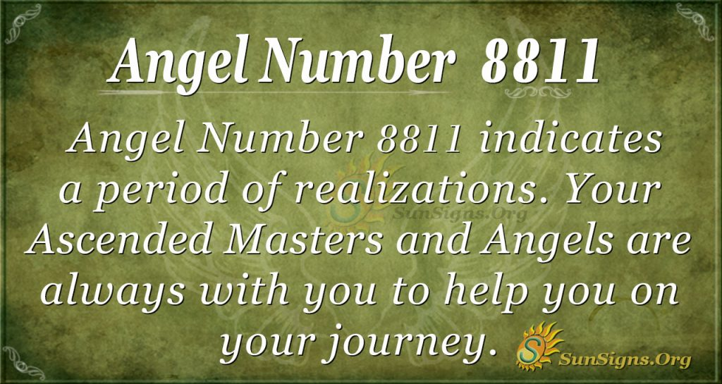 angel number 8811