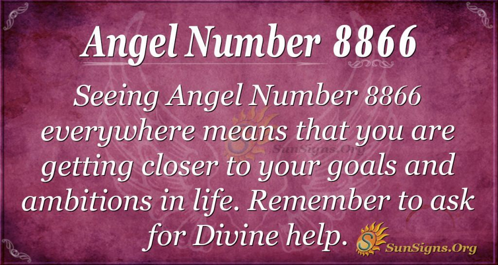 Angel Number 8866