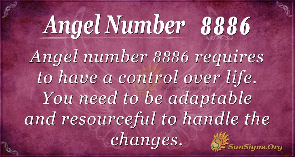 angel number 8886