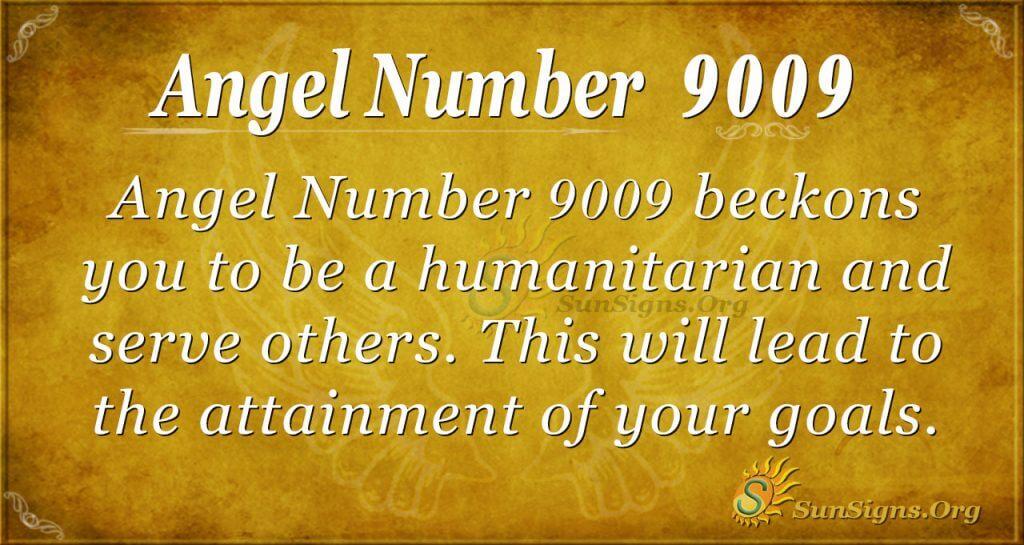 angel number 9009
