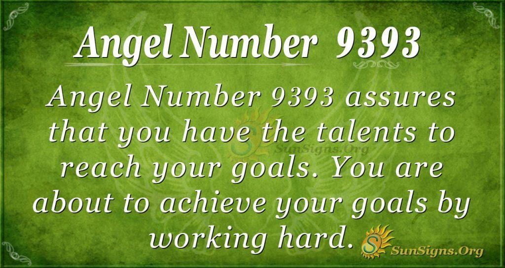 angel number 9393