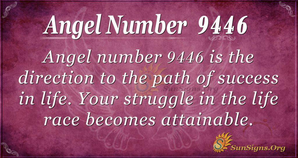 angel number 9446