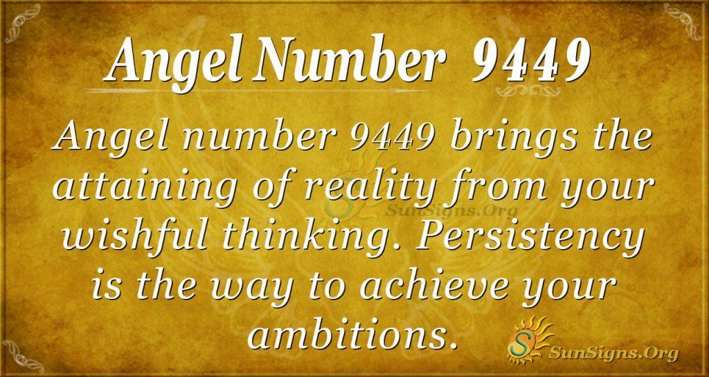 angel number 9449