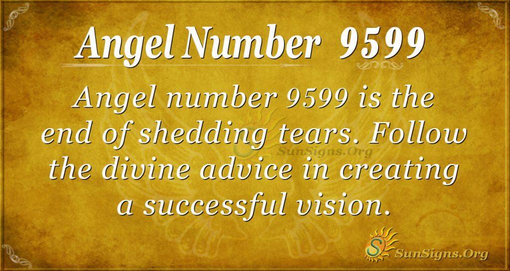 angel number 9599