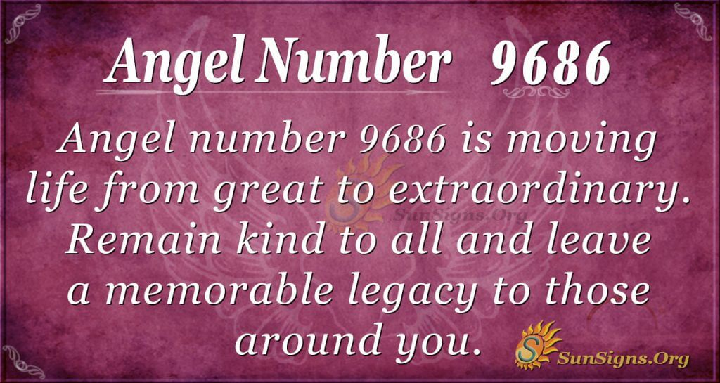 angel number 9686