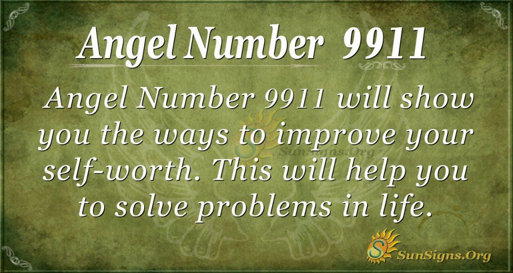 angel number 9911