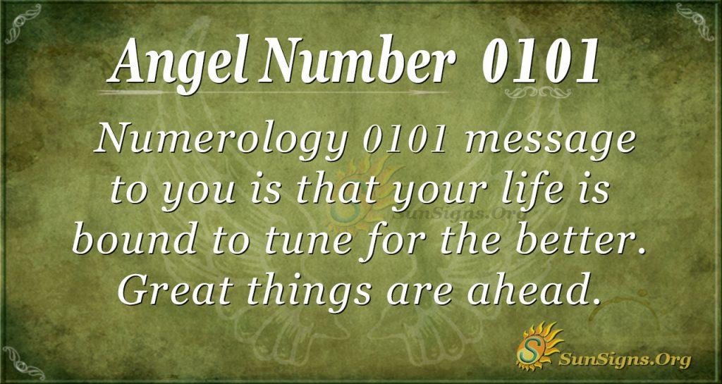 angel number 0101